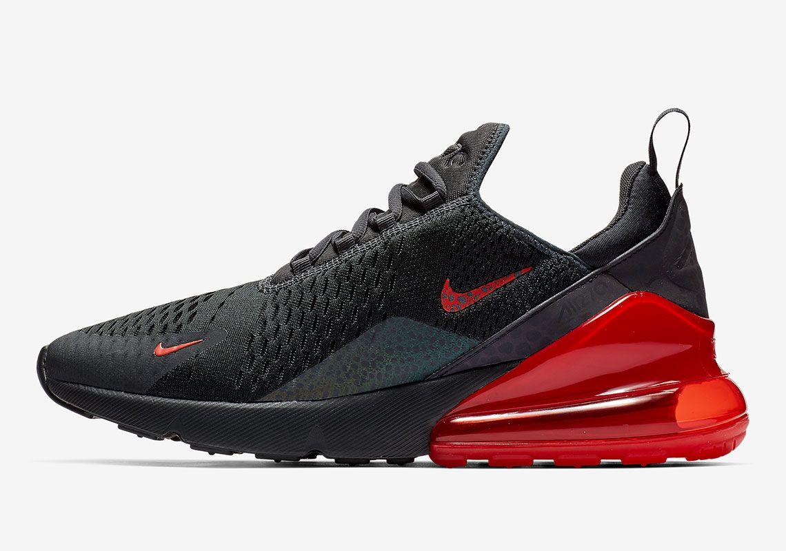 Nike Air Max 270 270 Black/Red BQ6525