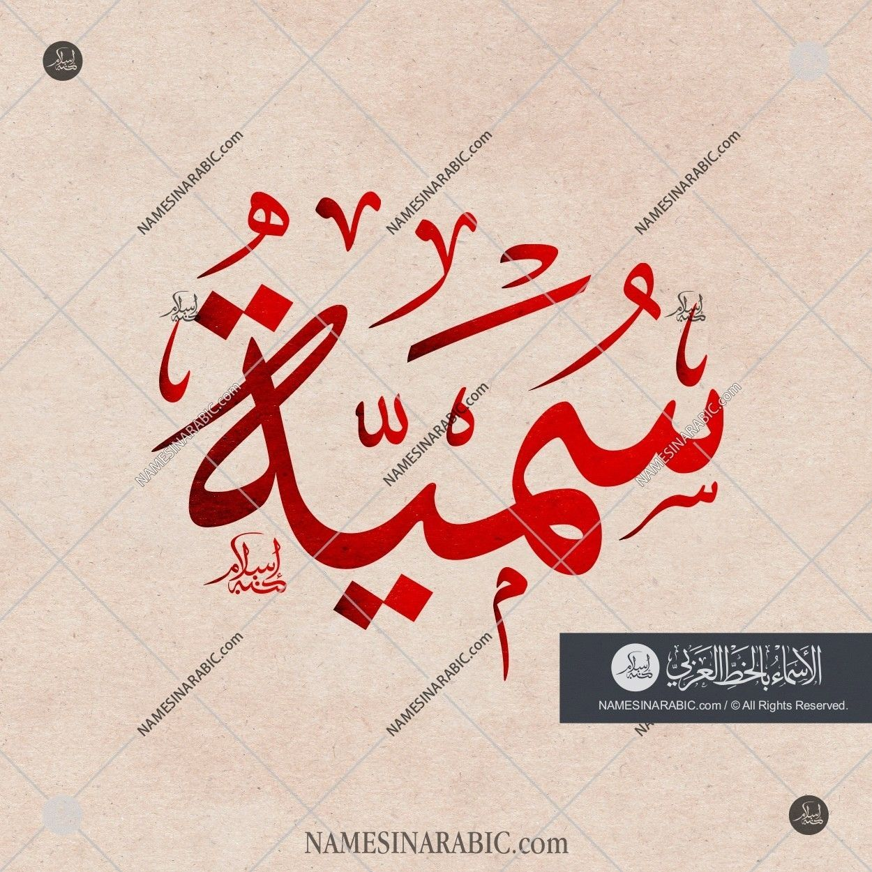 Sumayah سمية Names In Arabic Calligraphy Name 3490 Calligraphy Name Arabic Calligraphy Design Islamic Calligraphy