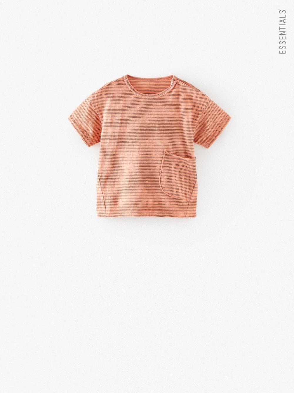 Baby Boys' Fashion | ZARA Ireland in 2020 | Pocket tshirt ...