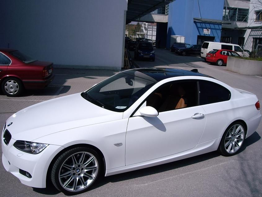 335i Coupe M Sport Package in Germany undergoing color conversion