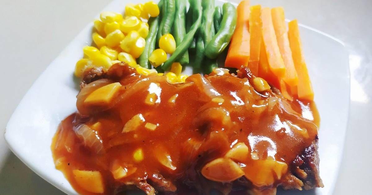 Resep Steak Daging Sapi Teflon Oleh Mega Resep Resep Steak Daging Sapi Steak