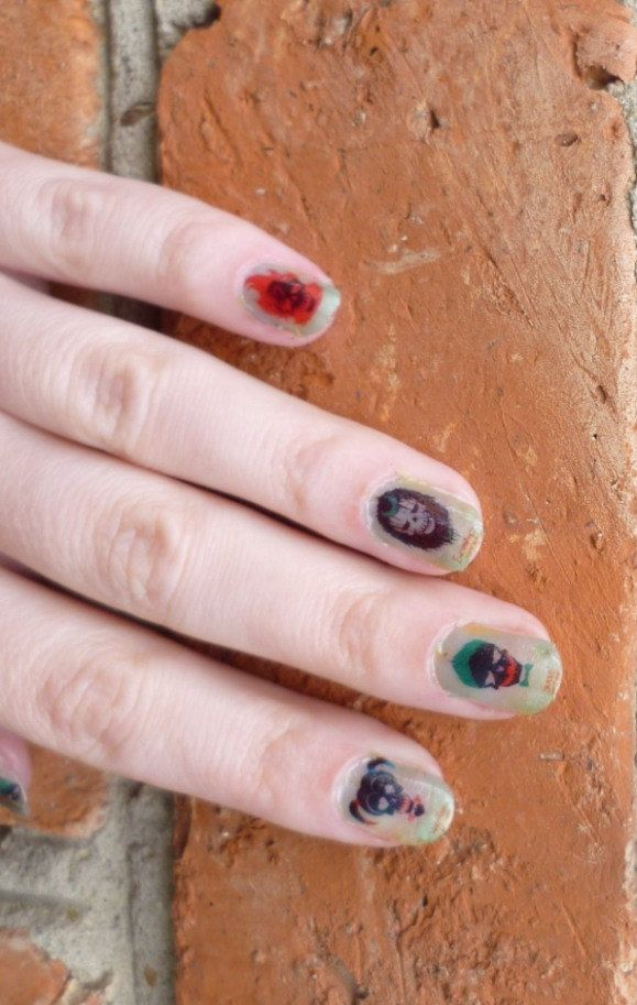 Suicide Squad, SALE 37% Full Cover, Nail Wraps, Nail Decals, Nail ...