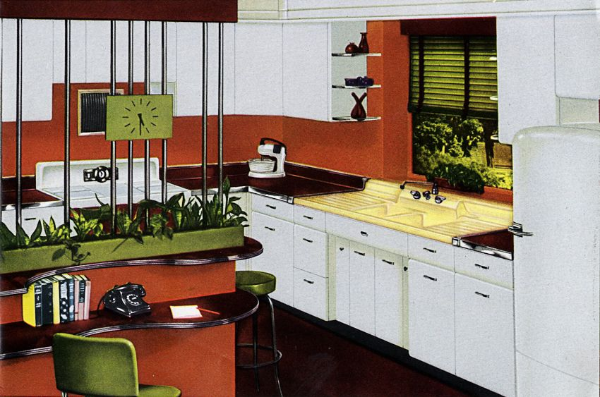 Go Mod Part 1 Mid Century Modern Window Treatments Modern Window Treatments Mid Century Modern Kitchen Retro Renovation