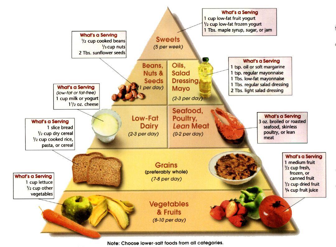 Dash Diet Food Pyramid | Protein Food Group | Dash diet ...