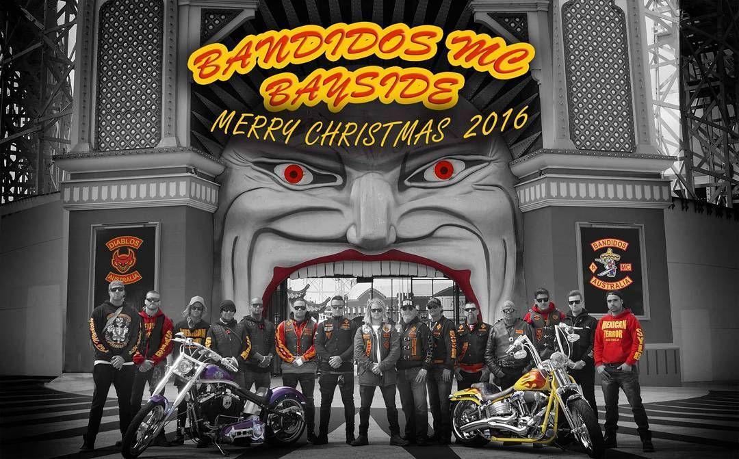 Pin by NeilOD on Bandidos MC | Broadway shows, Biker clubs, Christmas