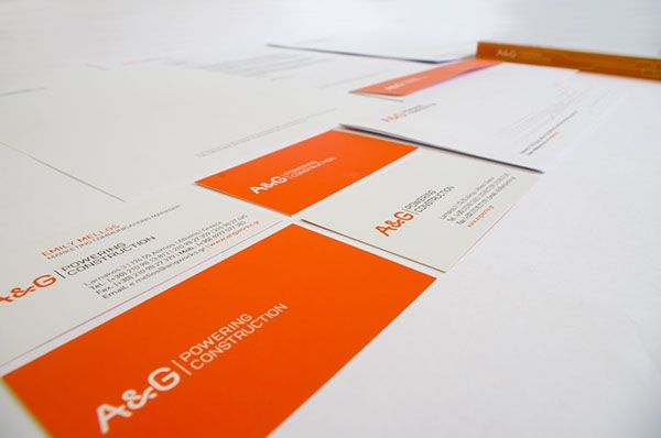 A&G Logo and Corporate Identity Design on Behance
