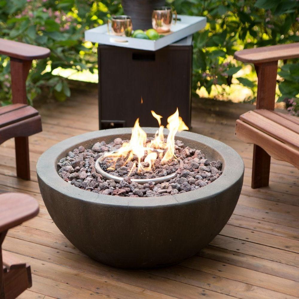 Enviro stone natural gas fire pit bowl jmerx natural