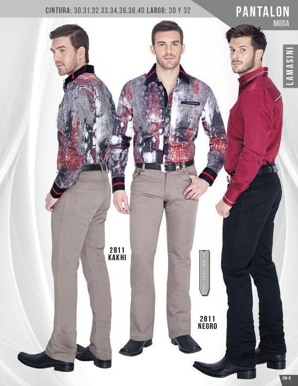 2811 Pantalon de Caballero Lamasini (En Especial)
