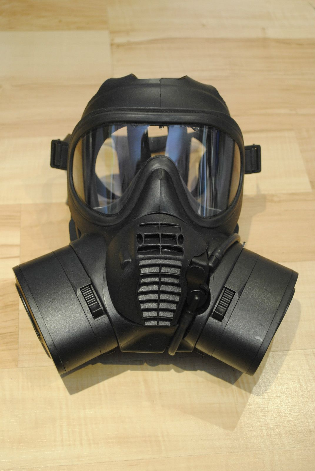 gas mask...thinking of using something like this this for Dr ...