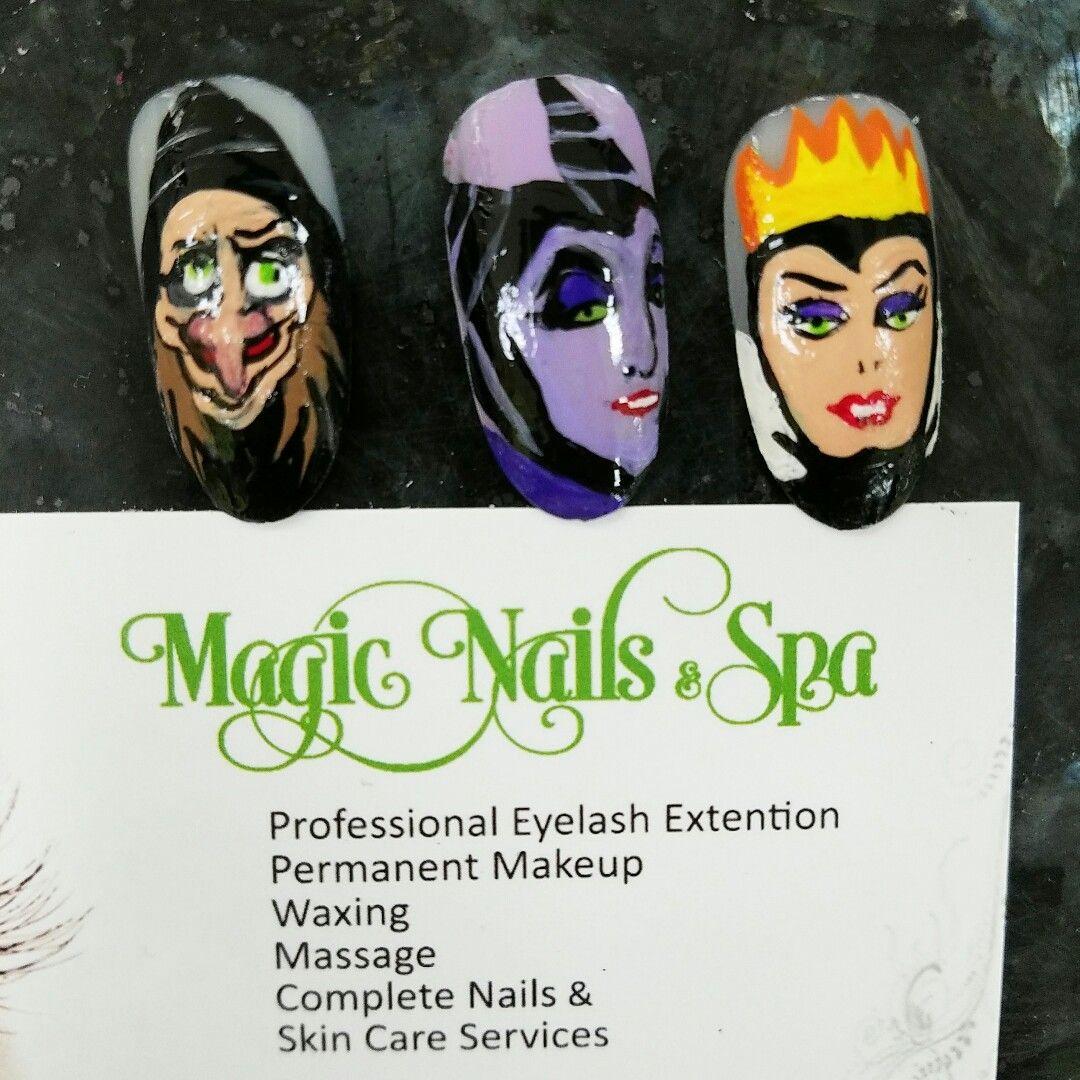 Pin by lan nguyen on halloween nails magic nails