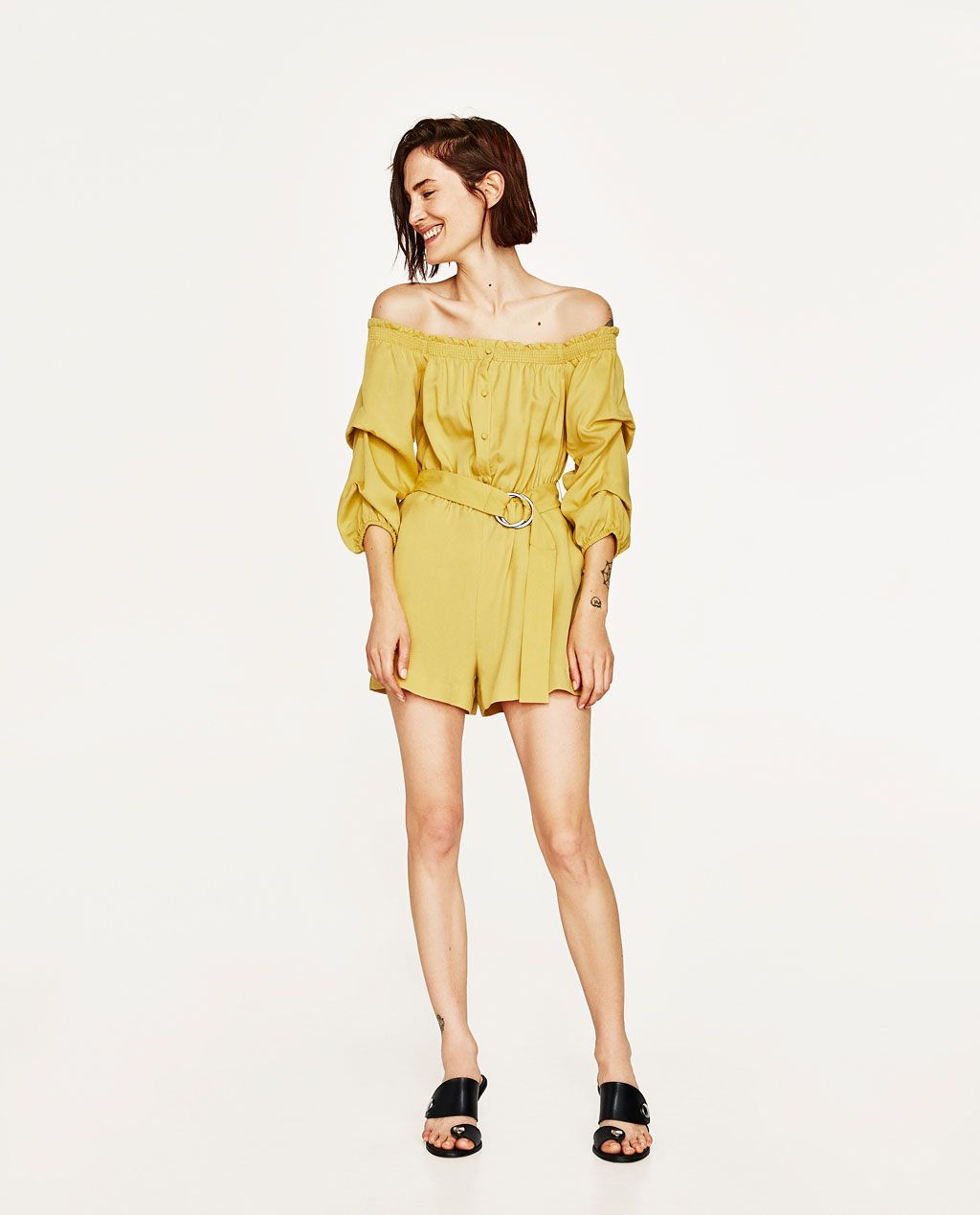 3c53ee9fee1 OFF-THE-SHOULDER BLOUSE-Blouses-TOPS-WOMAN-SALE | ZARA United States ...