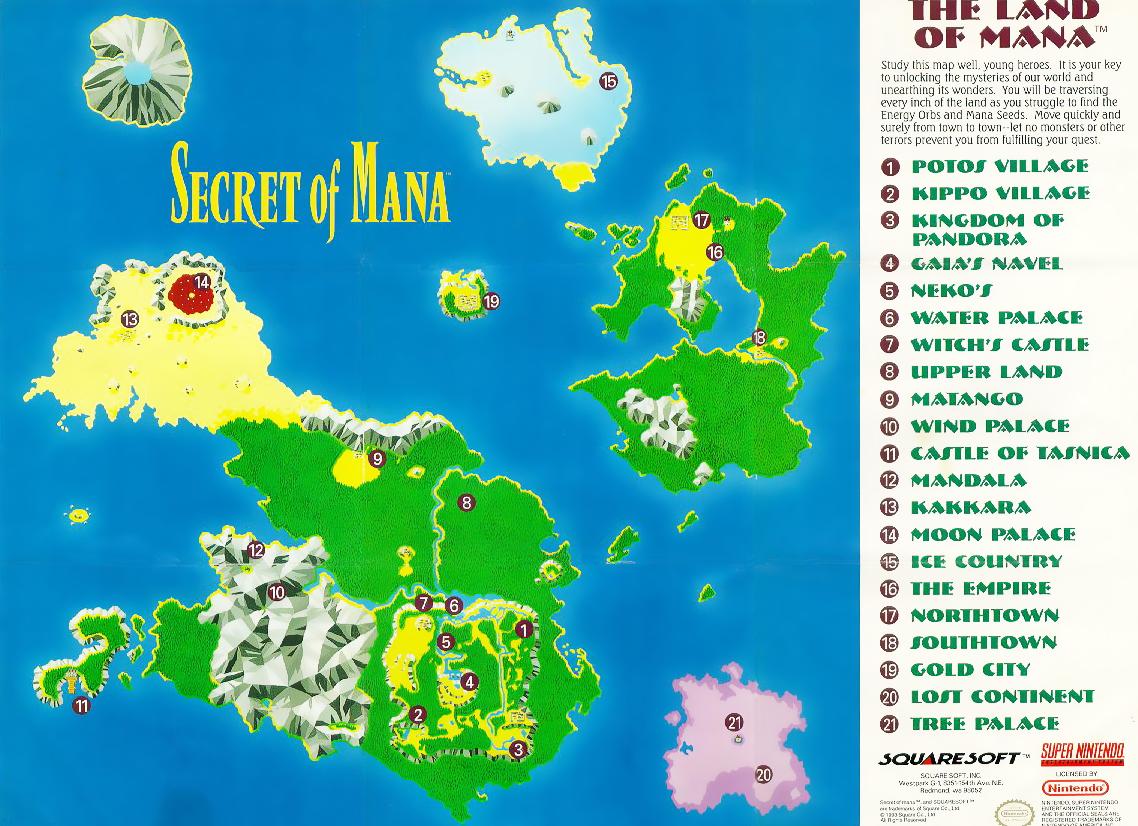 World map secret of mana square enix secret of mana world map secret of mana square enix gumiabroncs Gallery
