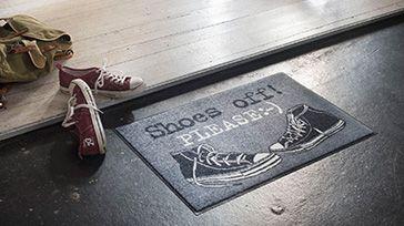 Fußmatten mit Grafiken