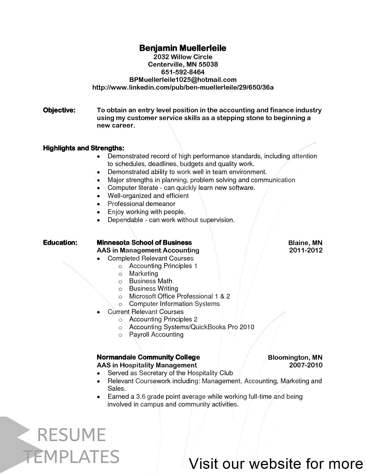 college student resume summary 2020 in 2020 Resume cover