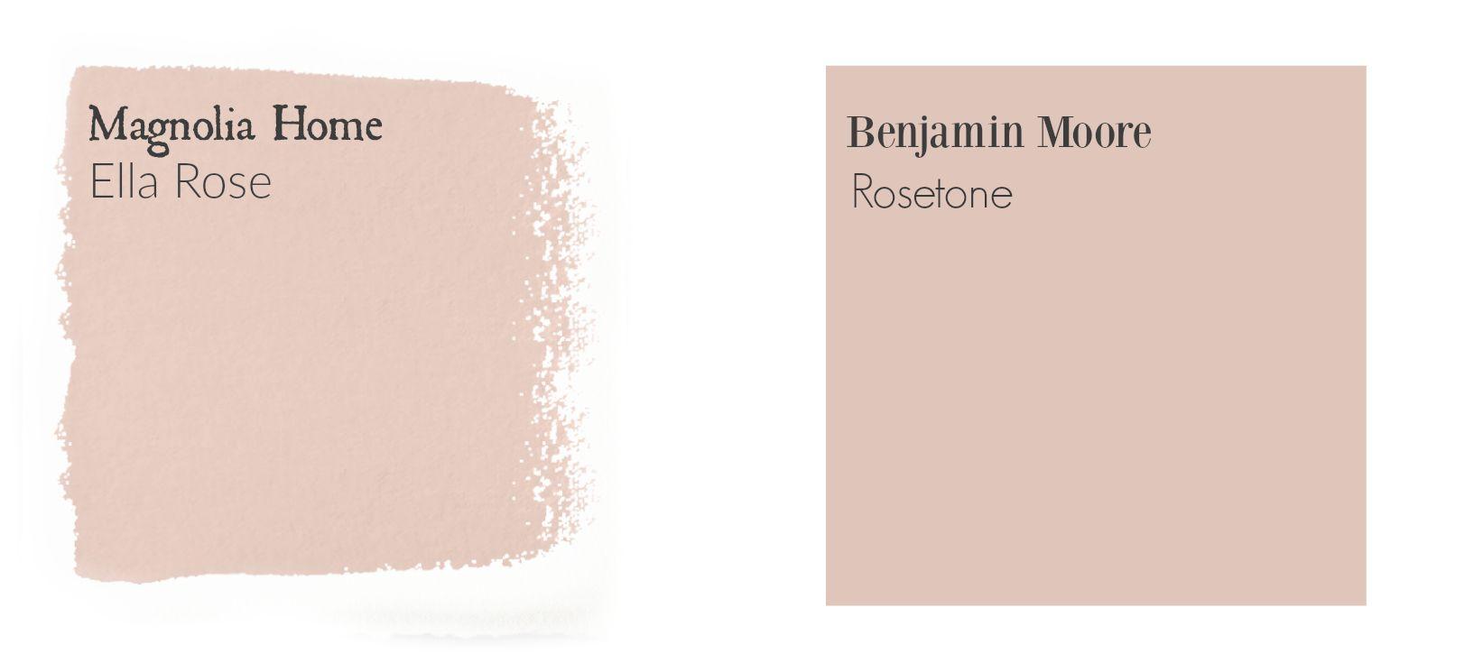 Ella rose color match magnolia homes paint magnolia paint colors fixer upper paint colors