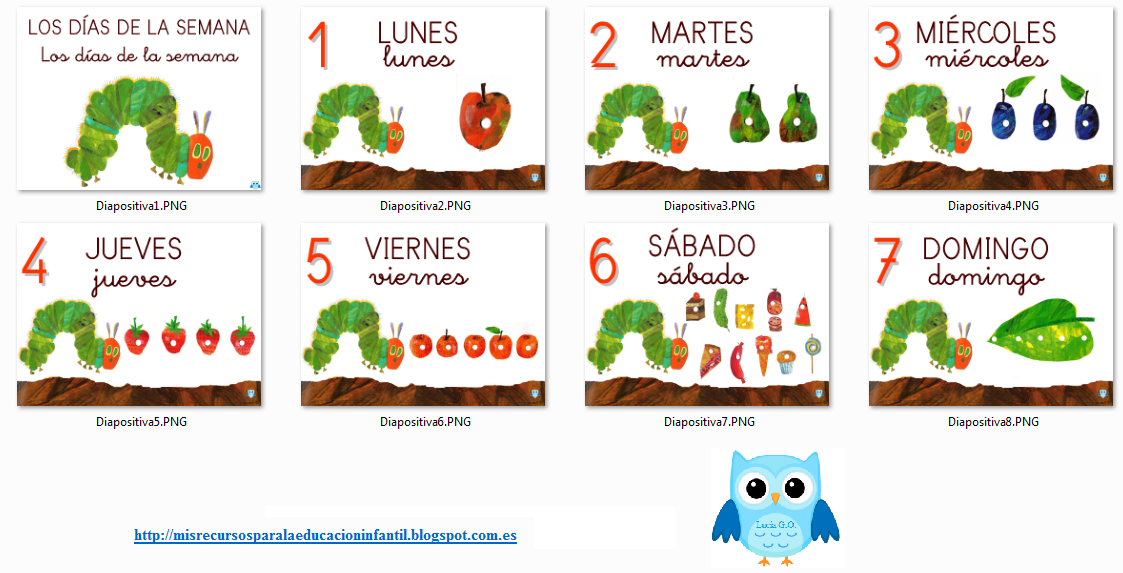 Días de la semana/Dies de la setmana/Days of the week - La pequeña ...