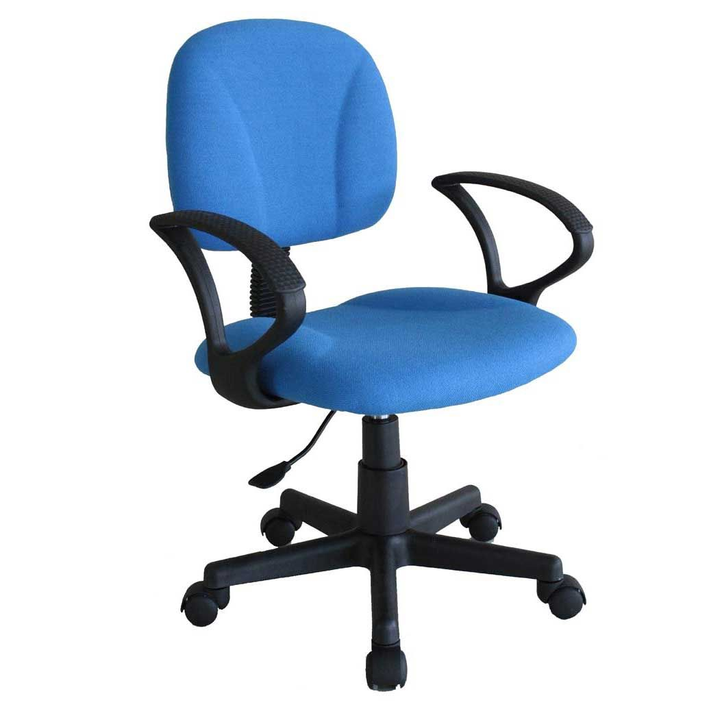 inexpensive ergonomic chair plastic covers amazon blue office task chairs in 2018