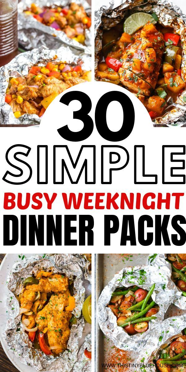30 Best Delicious Foil Pack Dinners is part of Foil pack dinners - Get dinner from oven to table quickly with these best delicious foil pack dinners  Healthy & delicious, foil pack dinners are a solution for busy folks