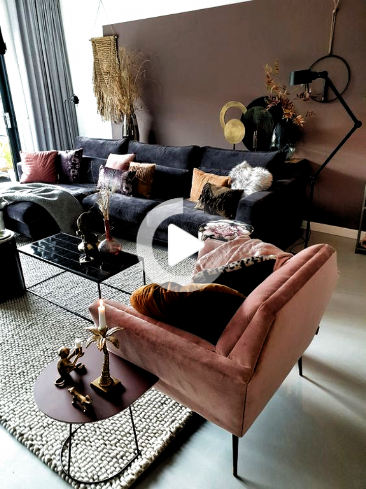 Comment décorer un salon gris et rose pâle en 2020   Décoration salon cocooning, Décoration ...
