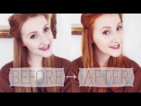 Lush's Henna Hair Dye - Tutorial + Review - YouTube #dyeingtutorials