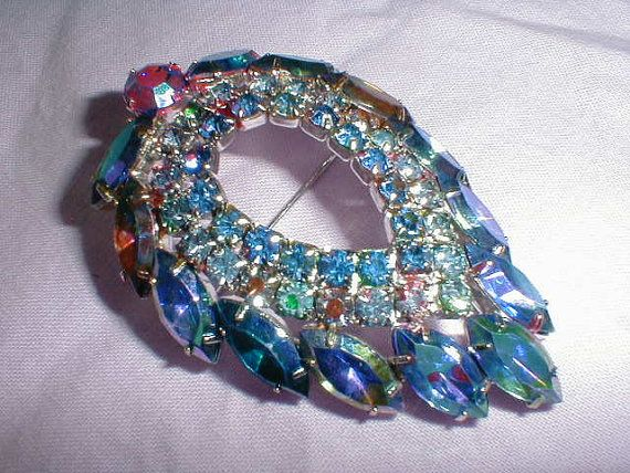 d&e juliana for sarah coventry aurora by qualityvintagejewels, $55.00