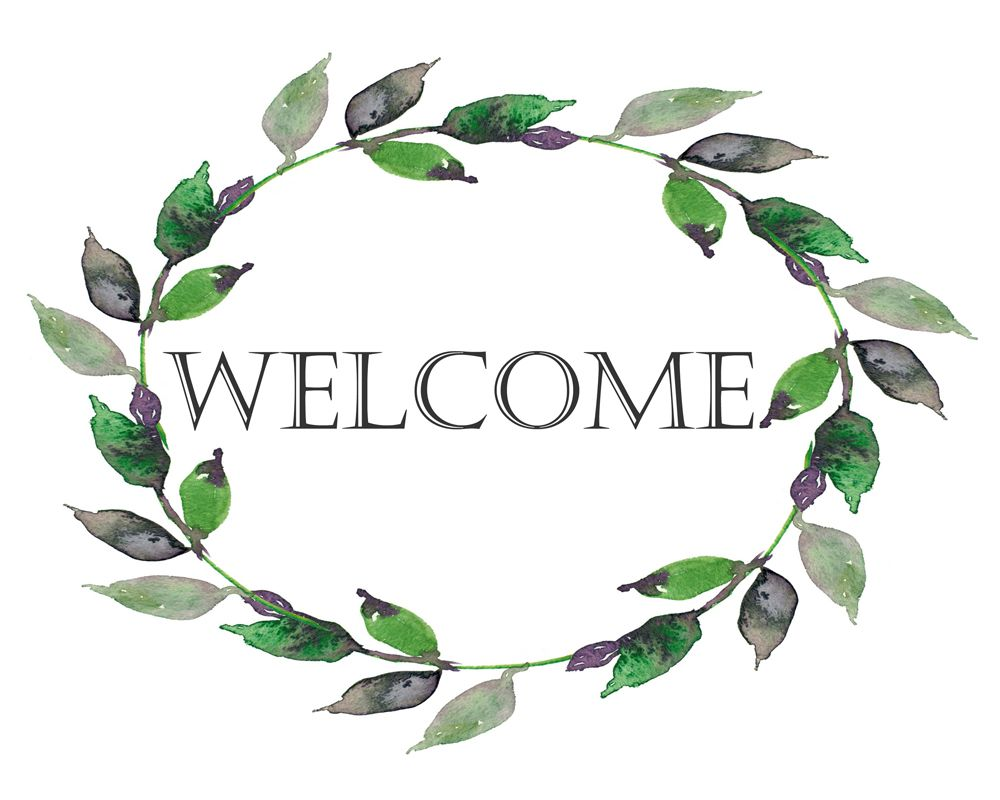 Download Printable Welcome Sign, Elegant For Your Home Decor, Or Unique And Lovely  Housewarming