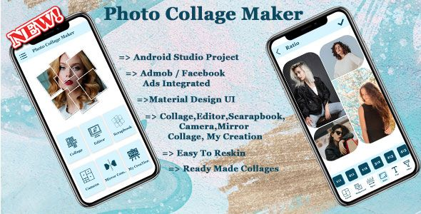 [Download] Photo Collage Maker Source Code Android App