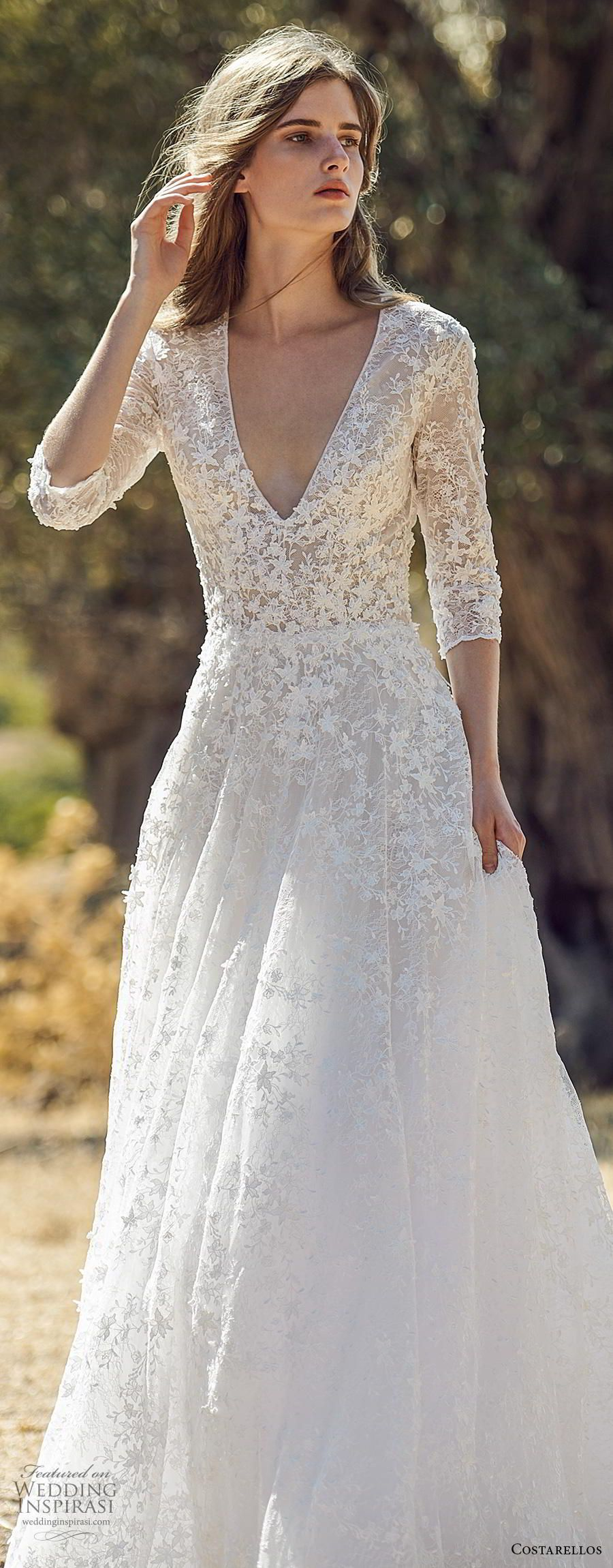 Costarellos Fall 2020 Wedding Dresses Wedding Inspirasi