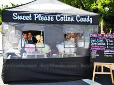Custom Food Booth Tents and Canopies (With images
