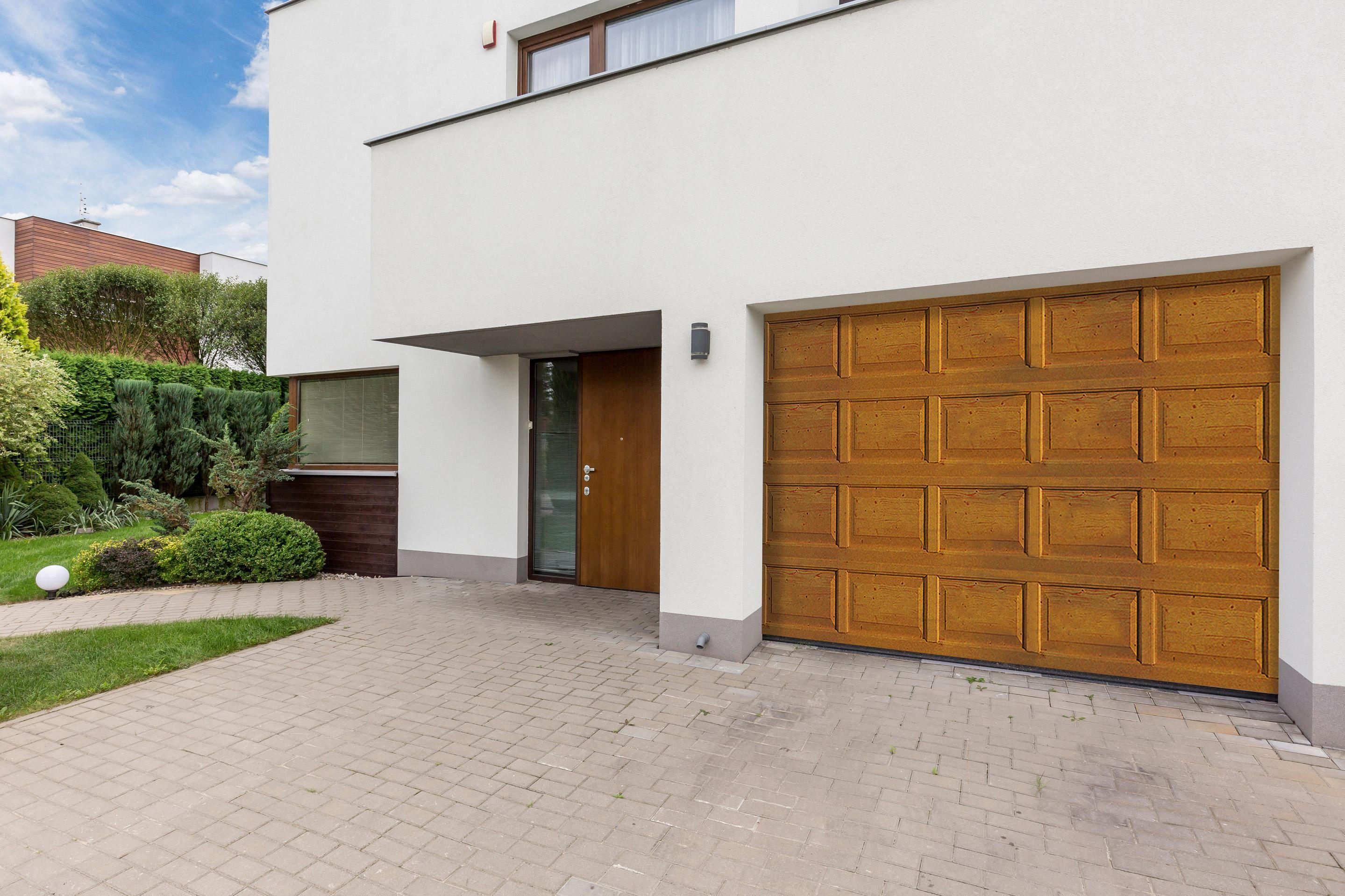 Artens Premium Motorized Sectional Garage Door H 200 In 2020 Sectional Garage Doors Garage Doors Doors