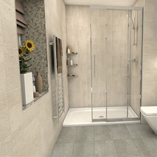 Bathroom Tiles Johnson pietra pienza light grey tile matt | bathroom tiles | gemini tiles