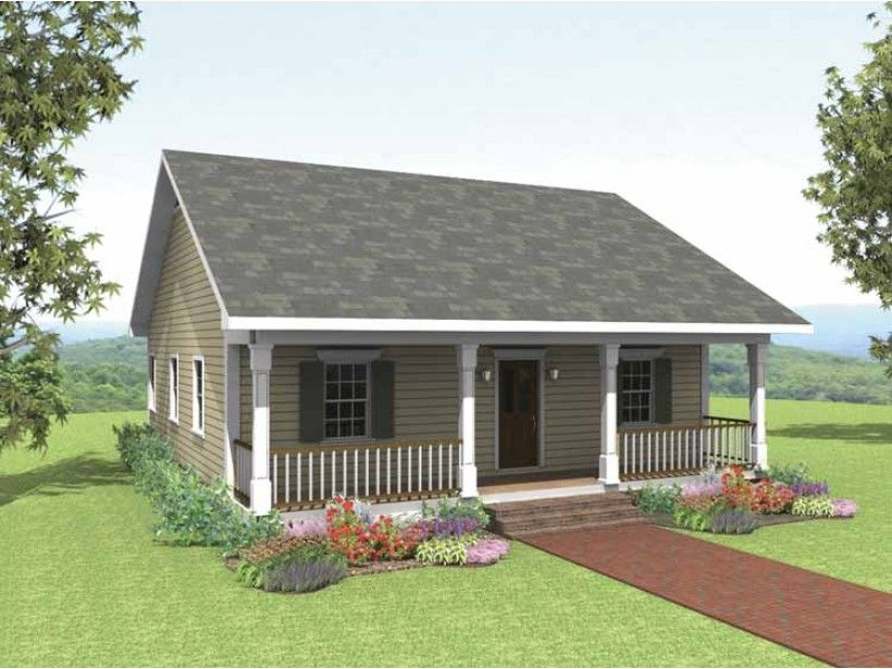 2 Bedroom Cottage Designs Cottage House Plan With 1007 Square Feet And 2 Bedrooms From Dream