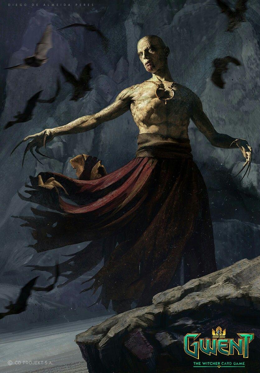 Elder Vampire Concept Art