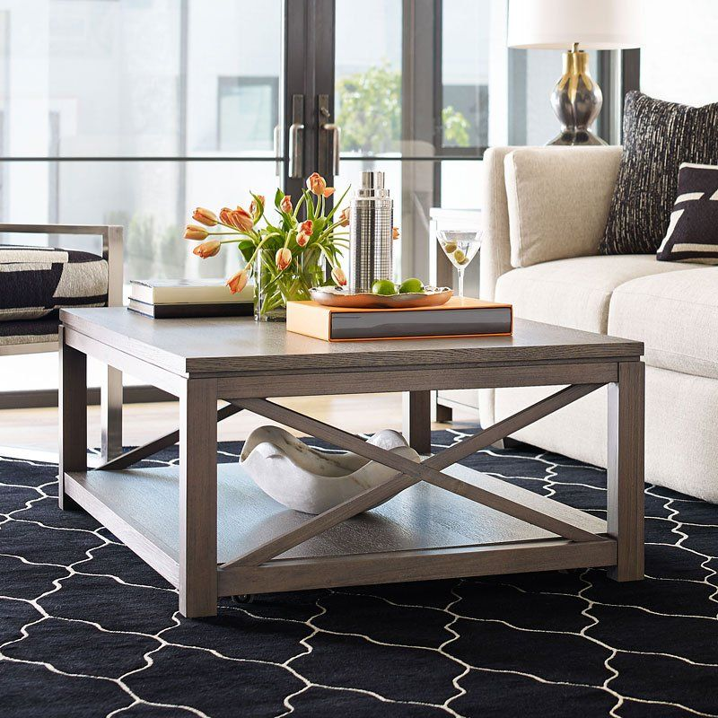 Highline Cocktail Table | Coffee table, Large living room ...