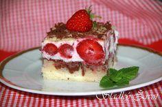 Jahodový sen, jahodový koláč, sladký život recepty