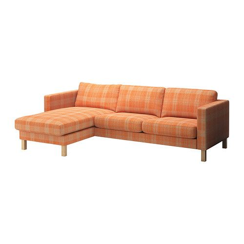 KARLSTAD Loveseat and chaise lounge Product dimensions Width: 96 1 ...