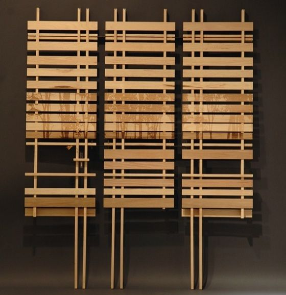 Contemporary bamboo room divider ideas room dividers Room divider wall ideas