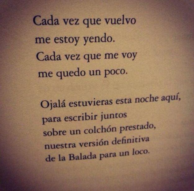 Carlos Salem Balada Para Un Loco Que Me Quedes Tu Y Poesía