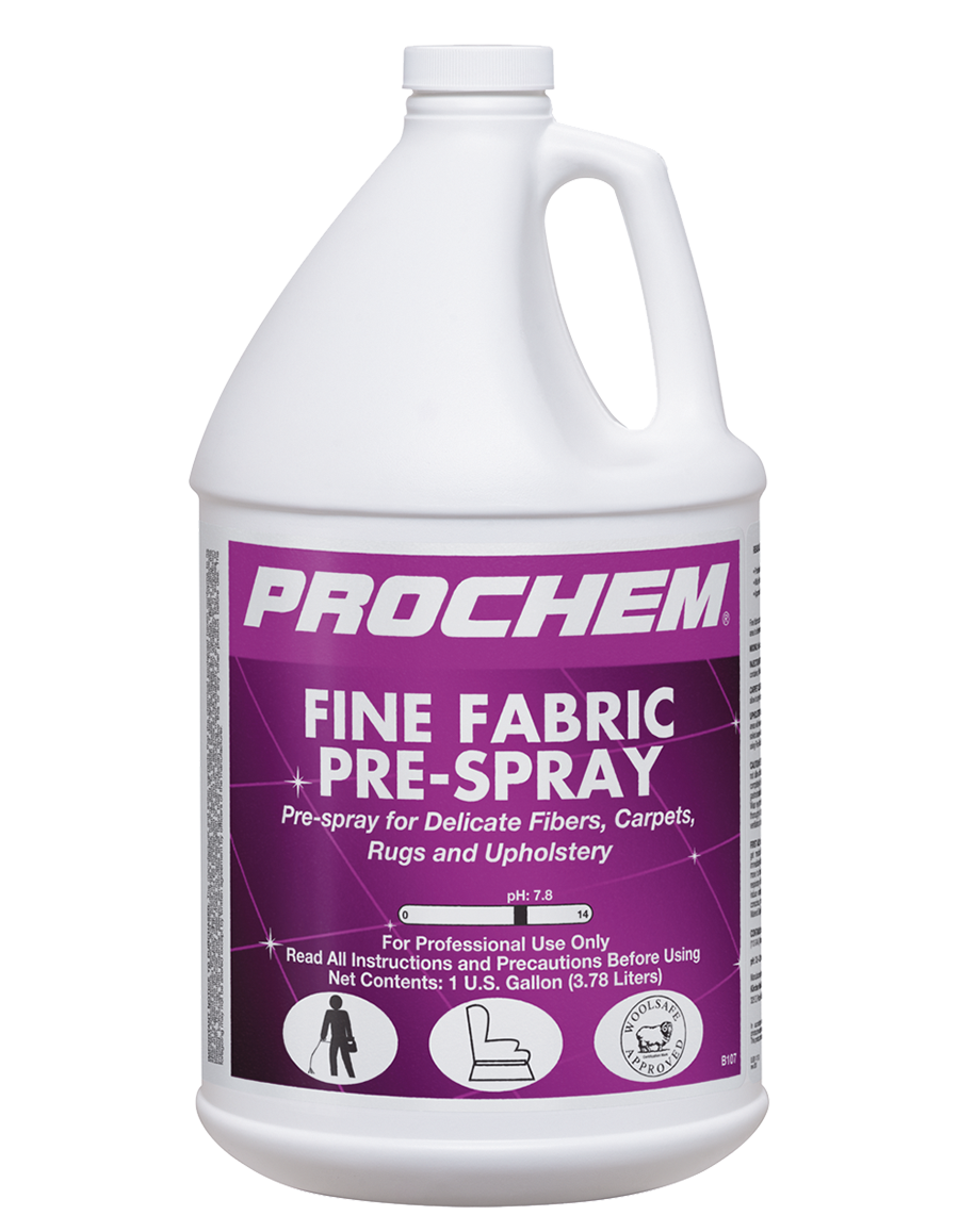 Fine Fabric Prespray Cleaner S Depot Prochem B107 1 Cleaning Hacks Cleaning Deep Cleaning Tips