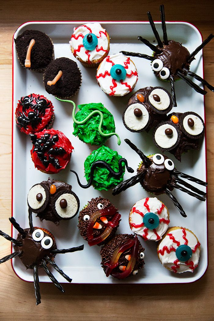 7 Easy Halloween Cupcakes | A Cup of Jo