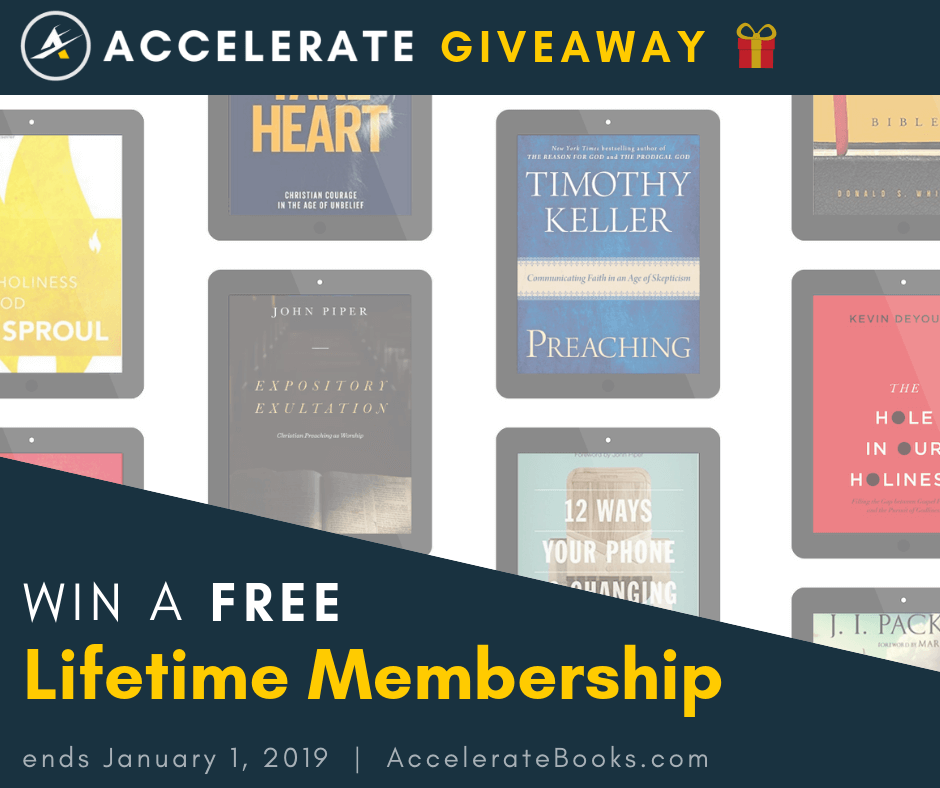 Free Lifetime Membership Giveaway | Helpful | Bible