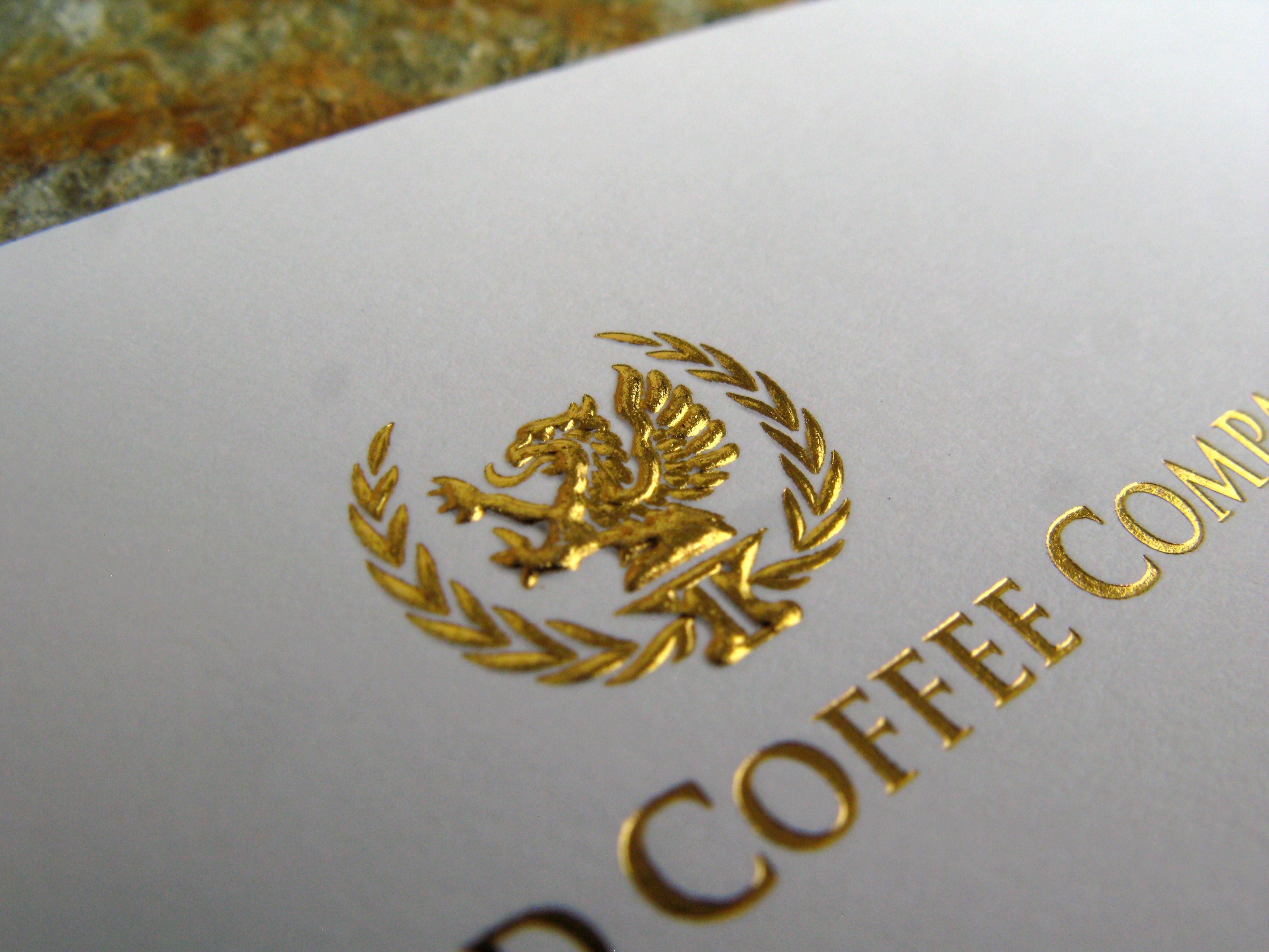 Full Bleed Gold Embossed Suede Template 1 Suede Business Cards Embossed Business Cards Gold Foil Business Cards