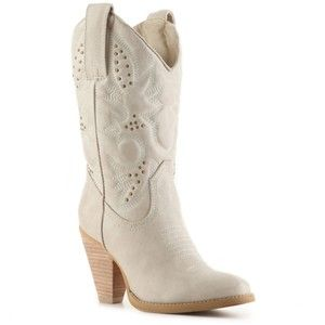 White Wedding Cowboy Boots For Women Shop Boots Mid Calf Boots Volatile Boots Volatile Denver