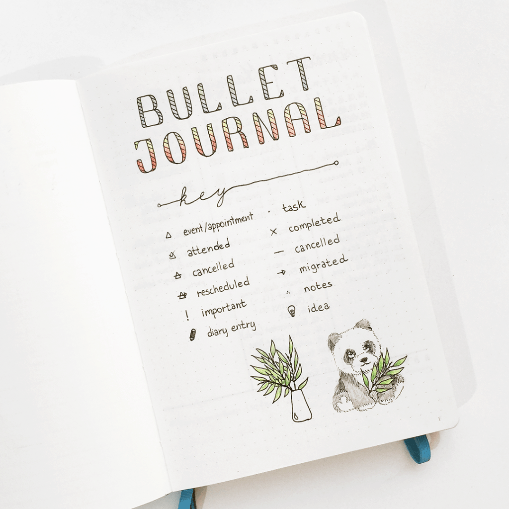 How To Start a Bullet Journal For The Non-Artist