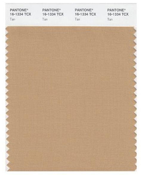 Pantone Tan Textile Color Perfect