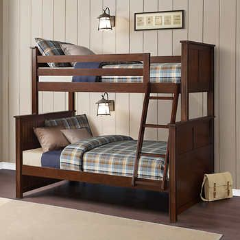 Best Midland Twin Over Full Bunk Bed Bunk Beds Bayside Furnishings Full Bunk Beds 400 x 300