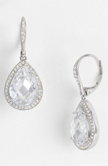 Nadri Pear Drop Earrings Nordstrom Exclusive Accessories