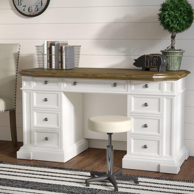 Collette Solid Wood Desk