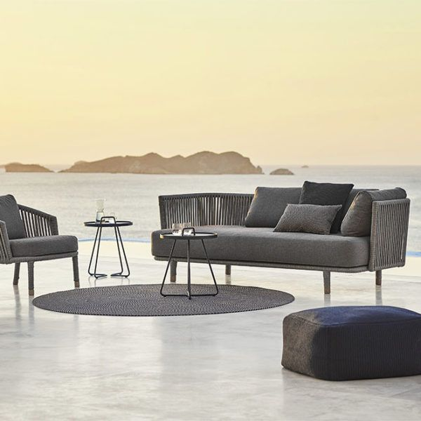 Moments 2 3 Seater Sofa By Cane Line In 2020 Contemporary Outdoor Furniture Outdoor Furniture Design Furniture