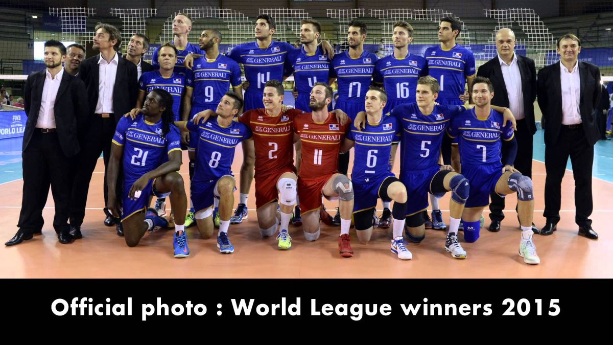 Remi Gaillard Disguises Himself As France World Champion Volleyball Team Player And Sneaks Into Their Official Photo Volleyball Team Team Player Volleyball